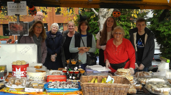 The Keeling family raise over £900 for PACT