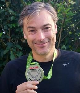 James Marathon Medal