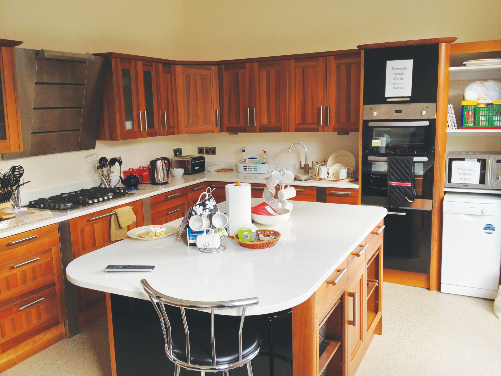 Pact house a home from home for Terrace parent lounge