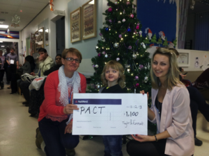 Taylor Emmet raise money for PACT