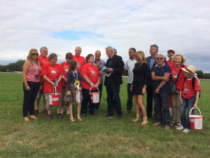 York Harness Raceway donate £10,000