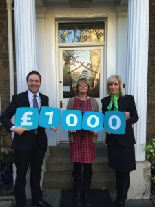 Yorkshire Building Society donate £1000 to PACT