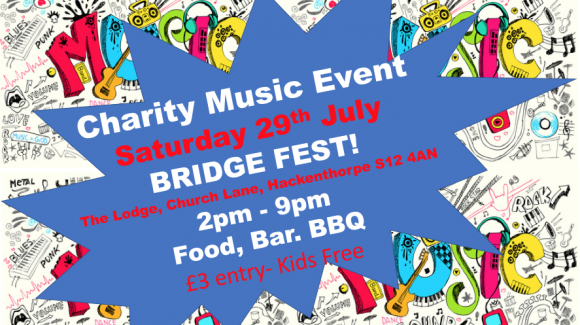 Bridge Fest in Hackenthorpe on Saturday July 29th