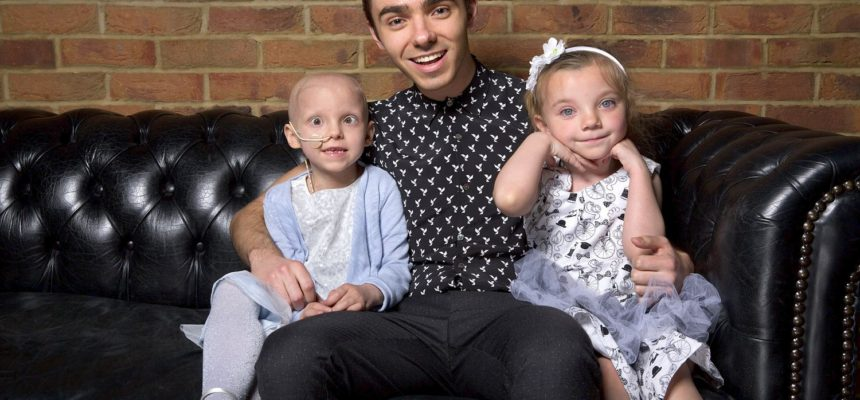Nathan Sykes sings for PACT