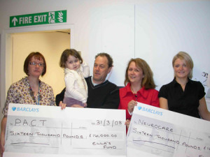 Ellas Fund donates to PACT and Neurocare