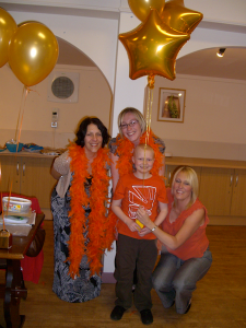 Nathan raises even more money for PACT