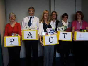 Royal Bank of Scotland raise money for PACT