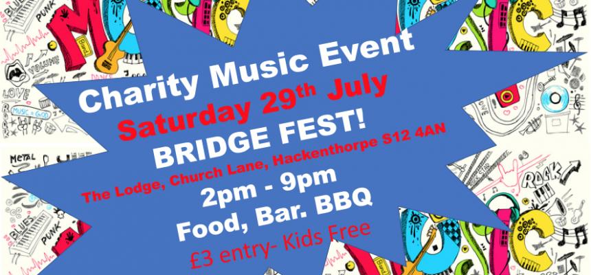 Bridge Fest in Hackenthorpe on Saturday July 29th