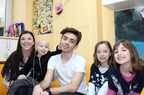 Celebrity guest shows support For Children's Cancer Centre Appeal
